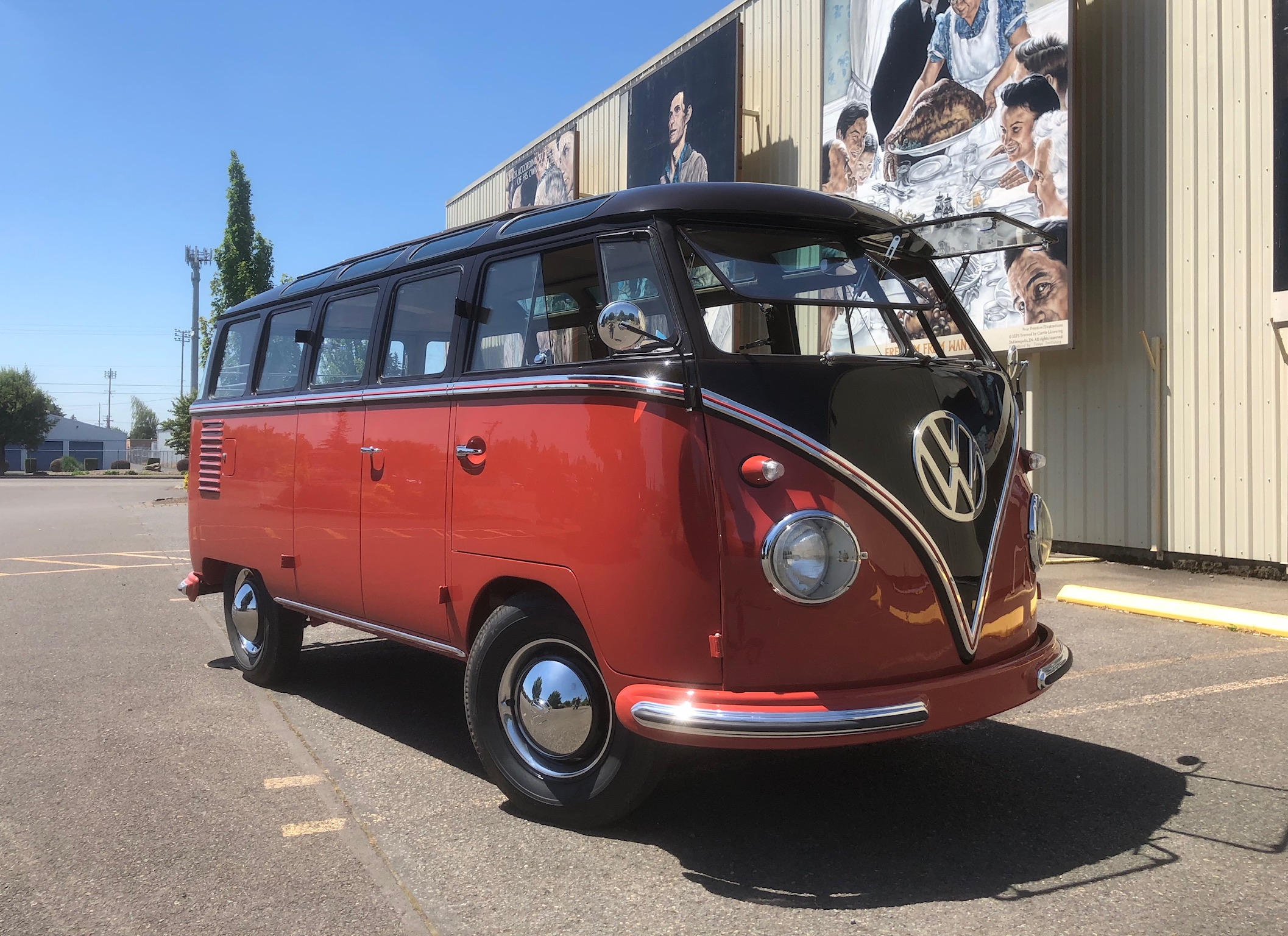 1956 Wolfsburg built 23 Window Samba Bus