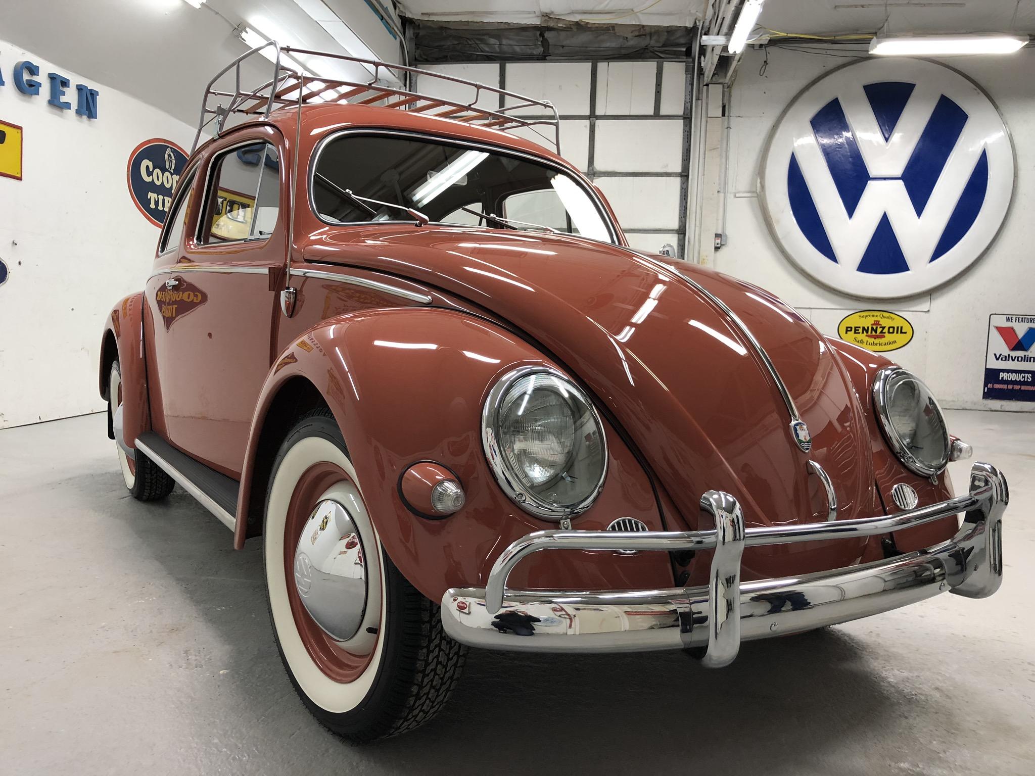 1956 Volkswagen Oval Bug
